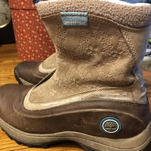 Timberland boots ladies 8 in great shape!